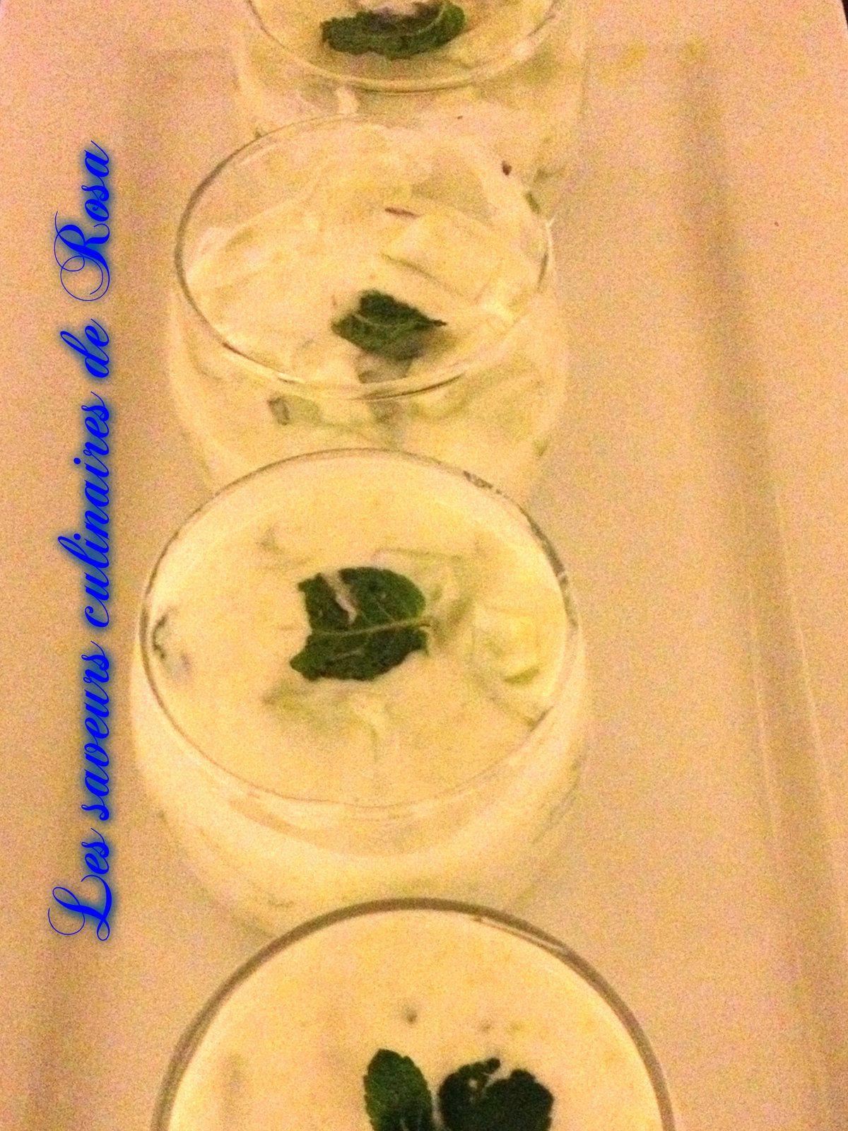 Sauce de concombre au yaourt