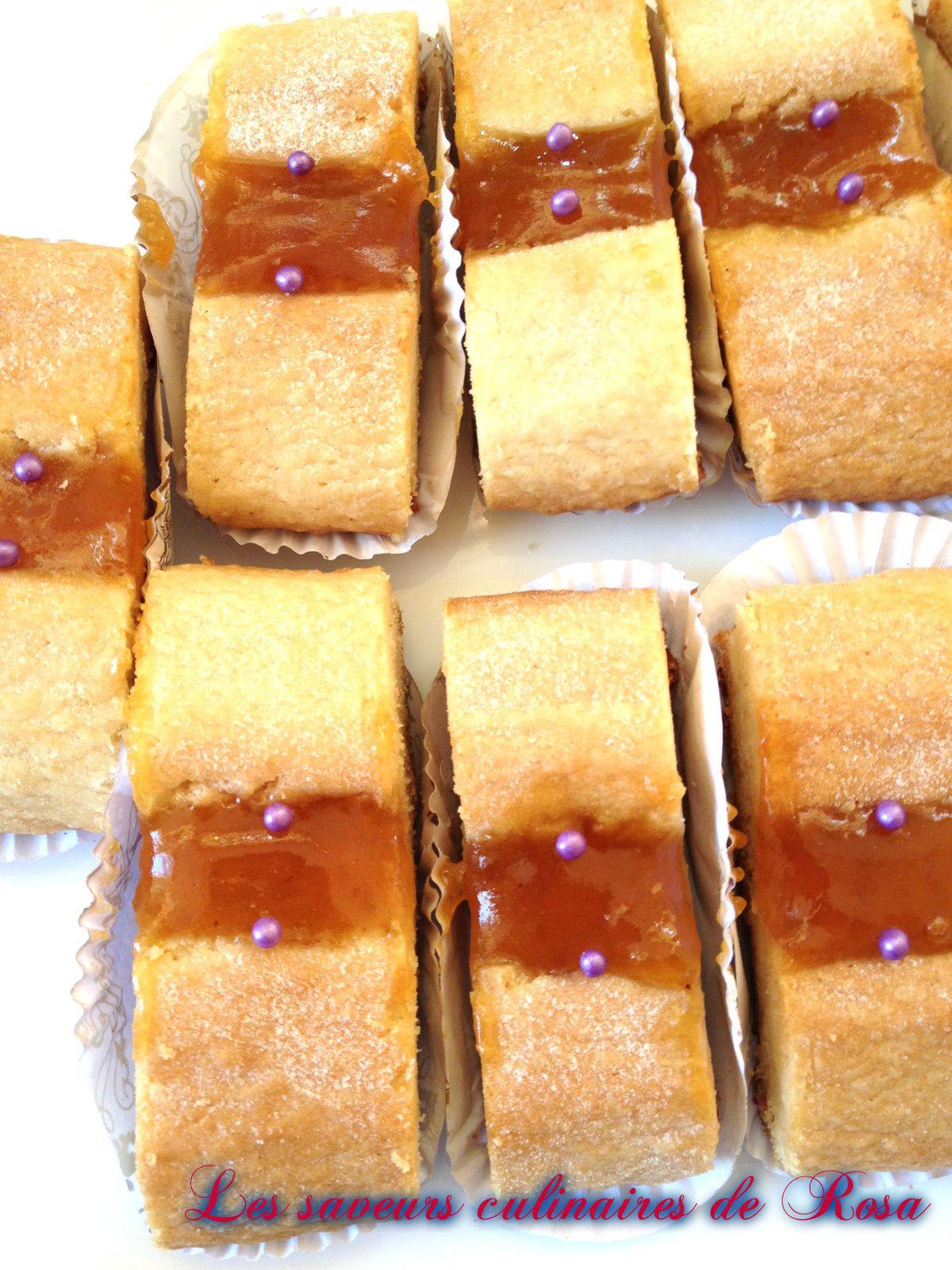 Gâteau virus (sablés à la confiture)