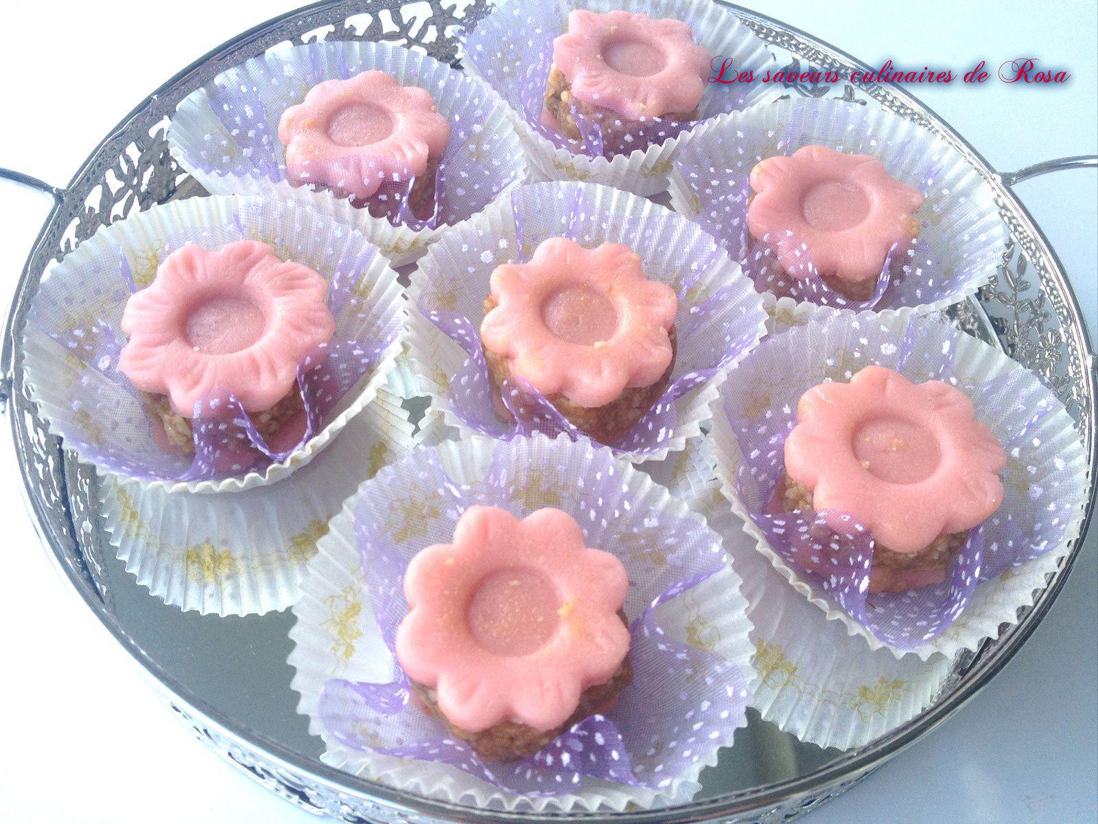 Kefta gâteau algérien en forme de rose