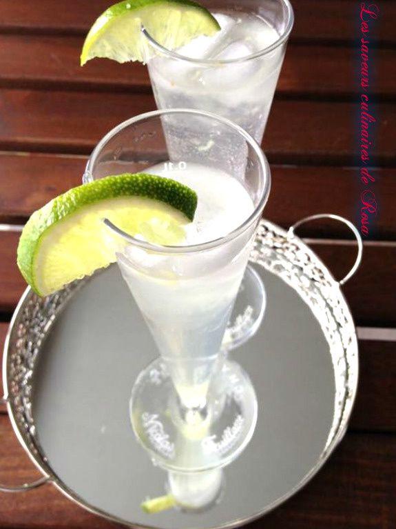 Soft cocktail aux deux citrons et gingembre