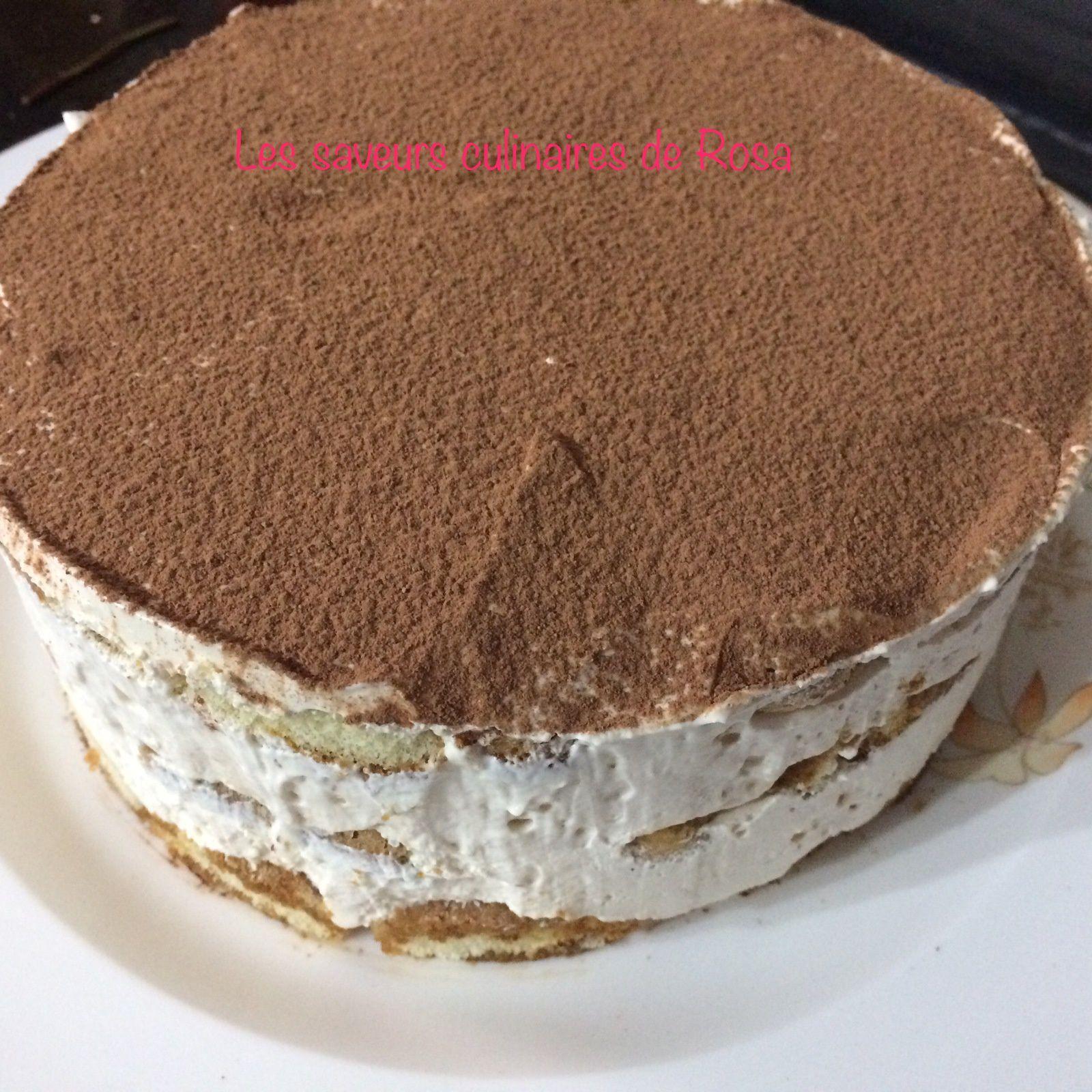Tiramisu cake (sans œufs)
