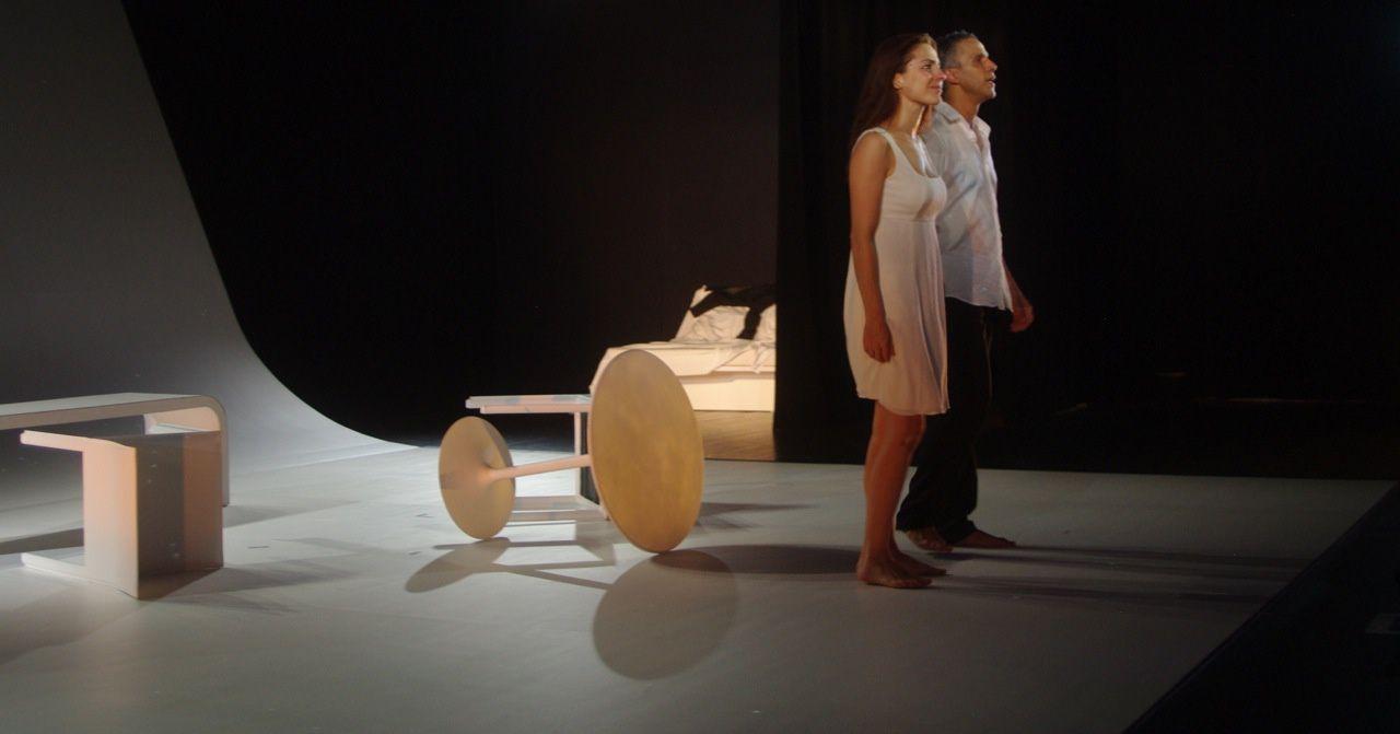 Audrey Dana et Sami Bouajila sur la scène du Petit Théâtre Saint Martin à Paris jusqu'au 26 Octobre 2013