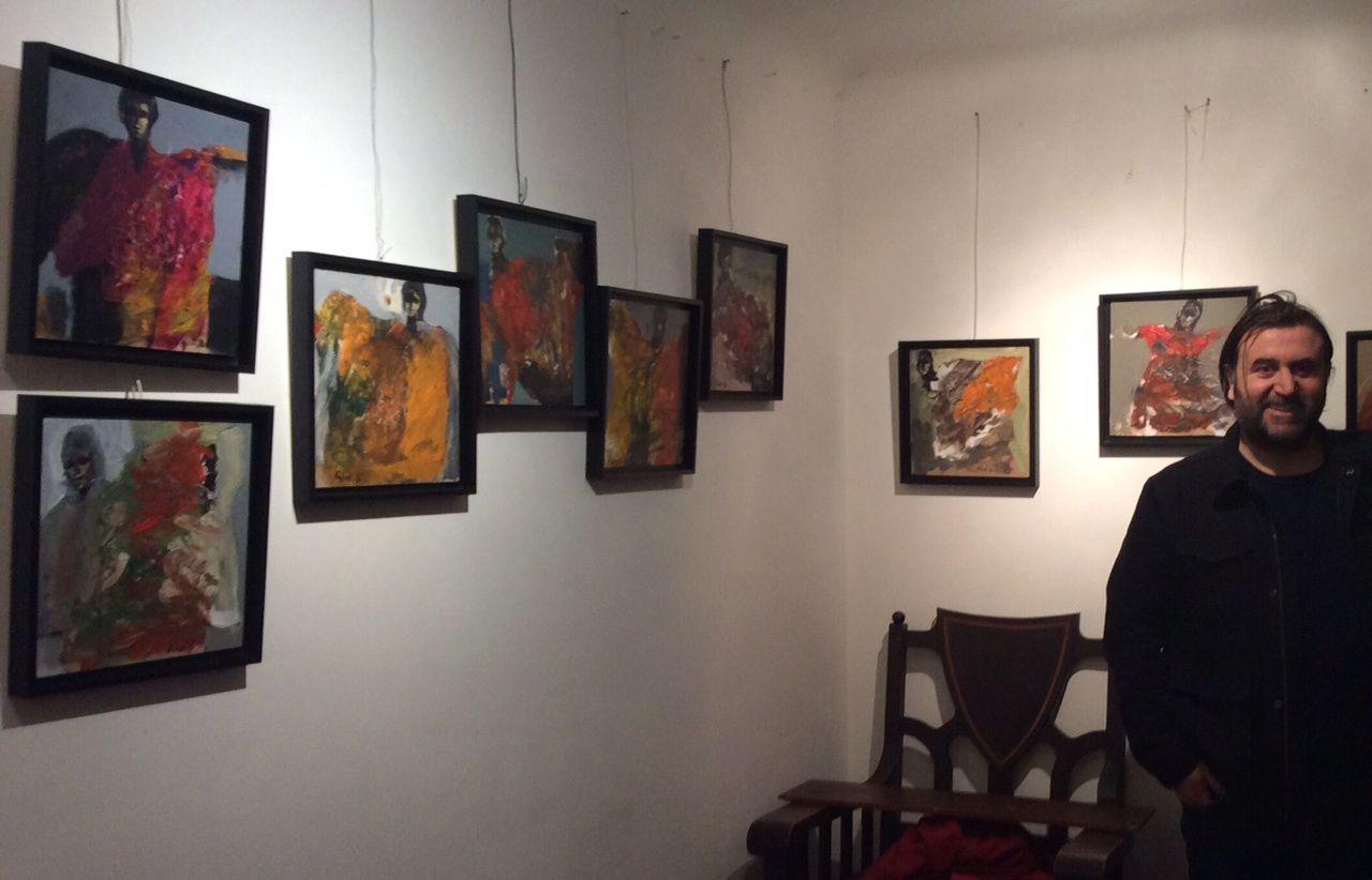 L'artiste syrien Khaled Alkhani rend hommage à la Ville de Metz