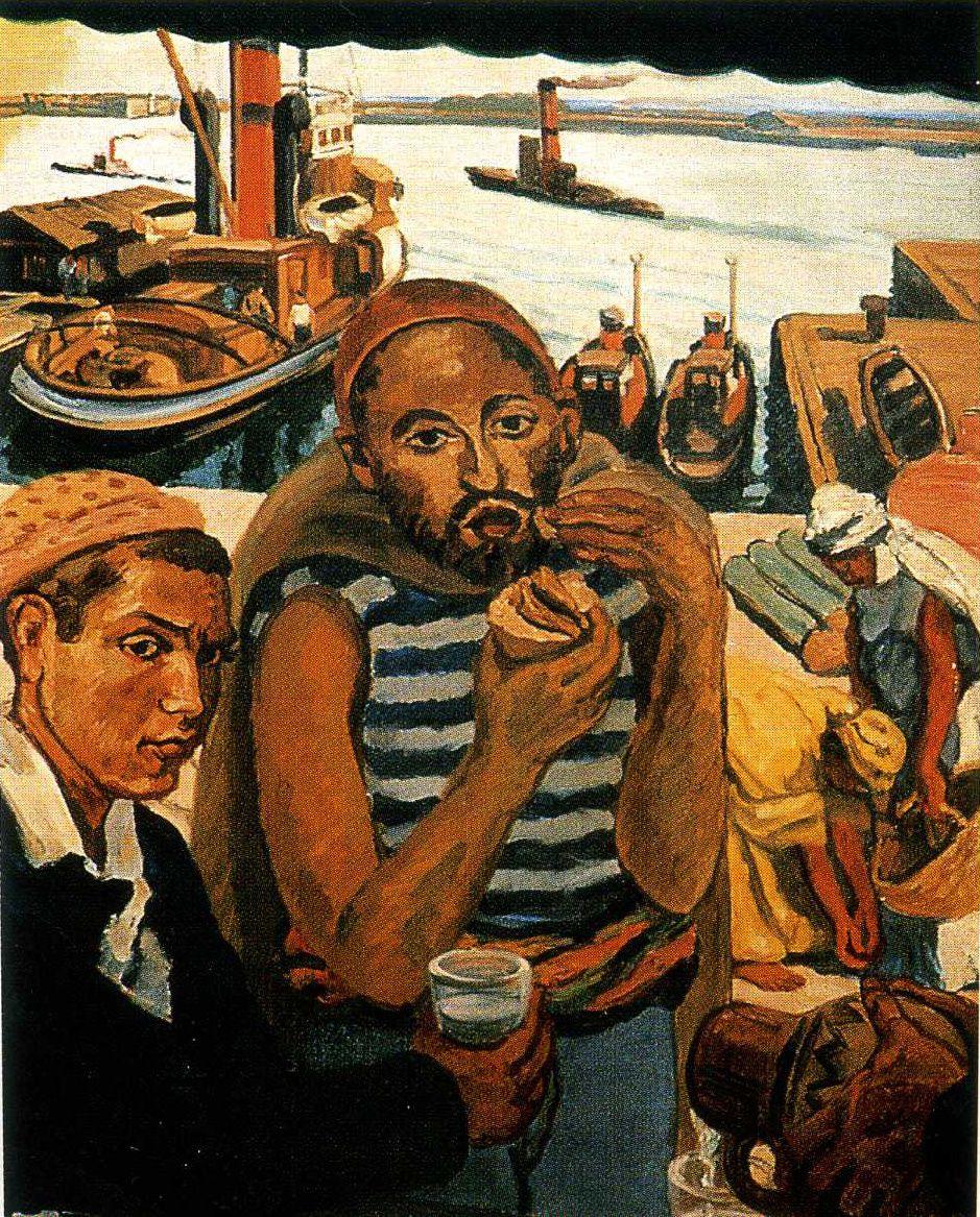 Marius de Buzon / La Kémia , port d'Alger