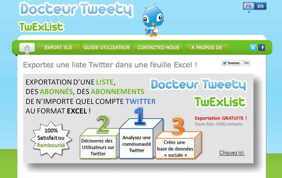 Exporter gratuitement vos listes Twitter
