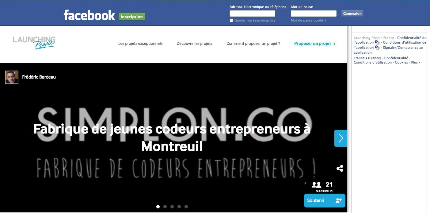 The Best Start-up 2013 ? simplon.co !