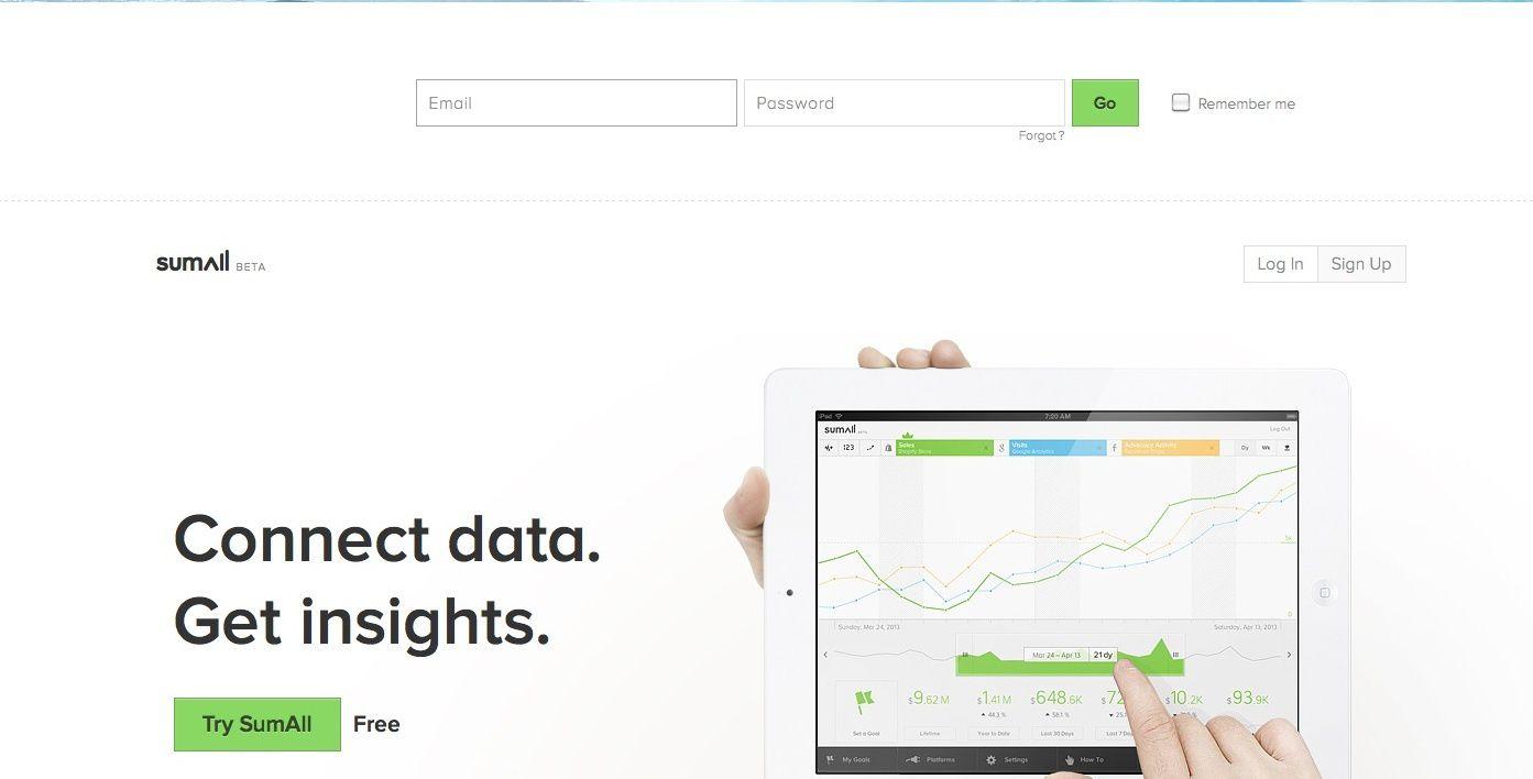 SumAll, la plateforme qui agrège des DATA