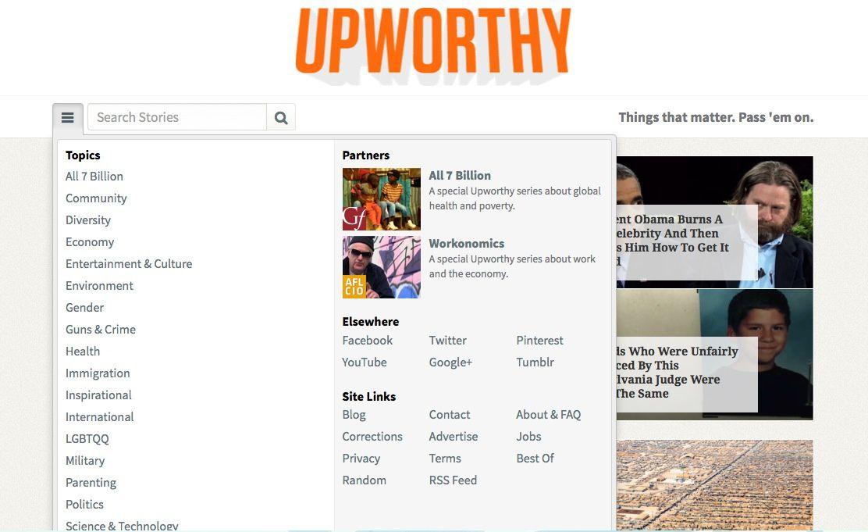 Upworthy, l'algorithme qui &quot&#x3B;pousse&quot&#x3B; le contenu