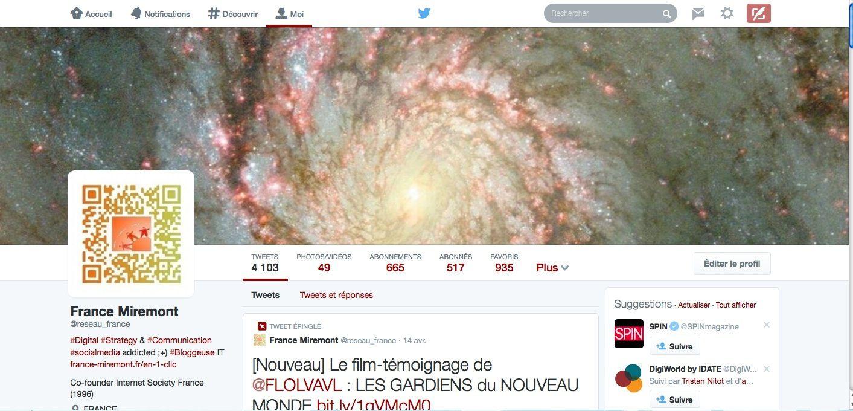Twitter : un nouveau profil ... et des stats