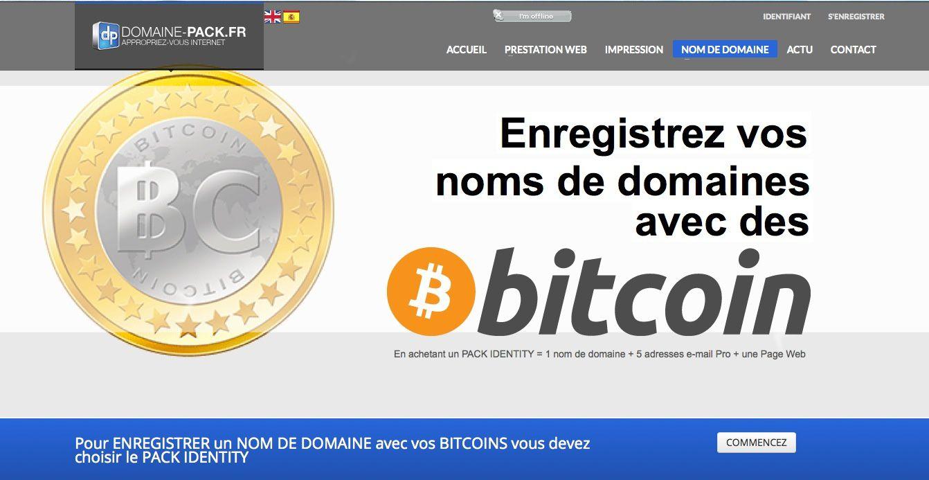 Une entreprise française accepte les bitcoins