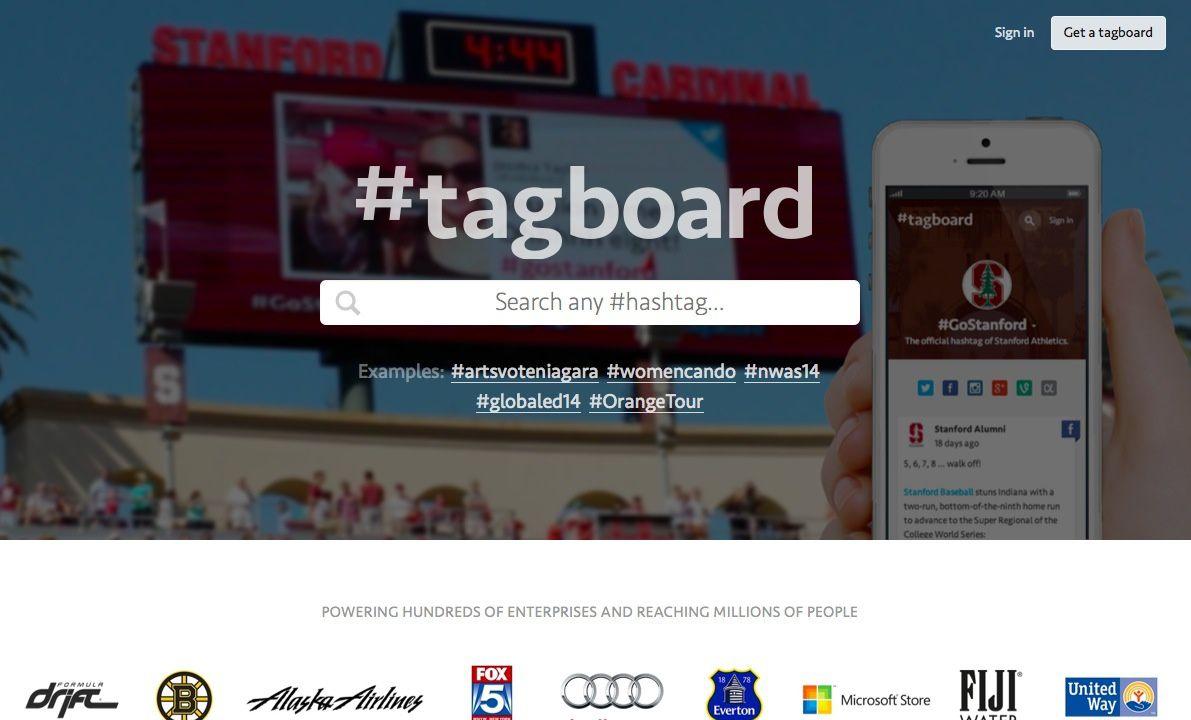 Tagboard, un moteur de recherches #