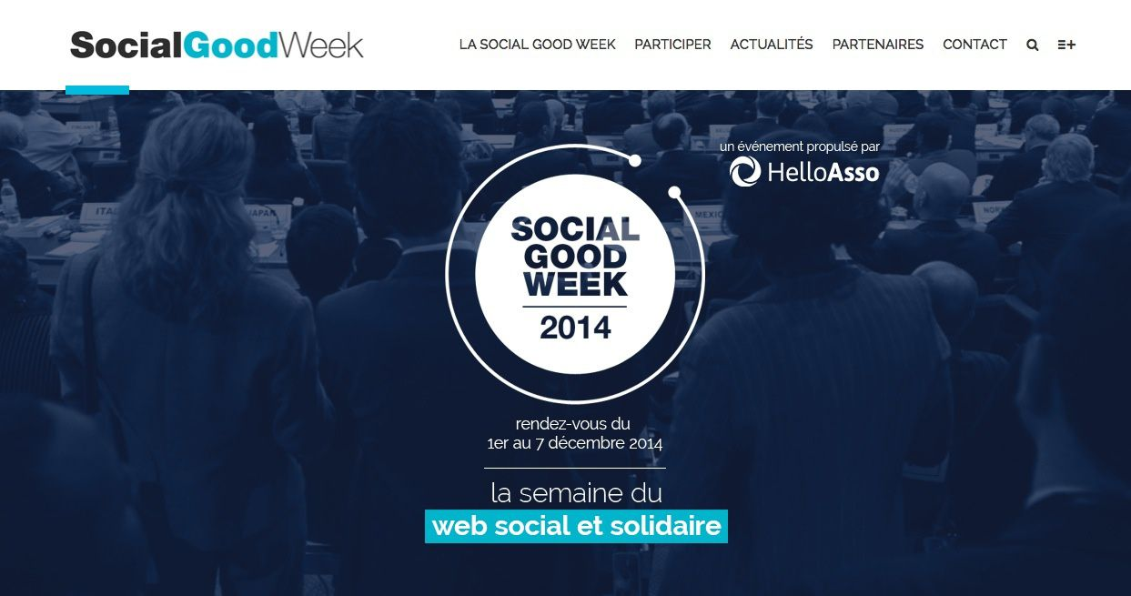 Social Good Week, c'est parti !