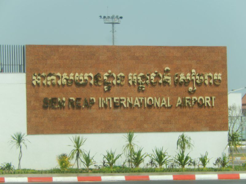 partir et faire une halte à Singapour ... pas mal le recyclage !!! et prendre un nouvel avion vers Siem Reap
