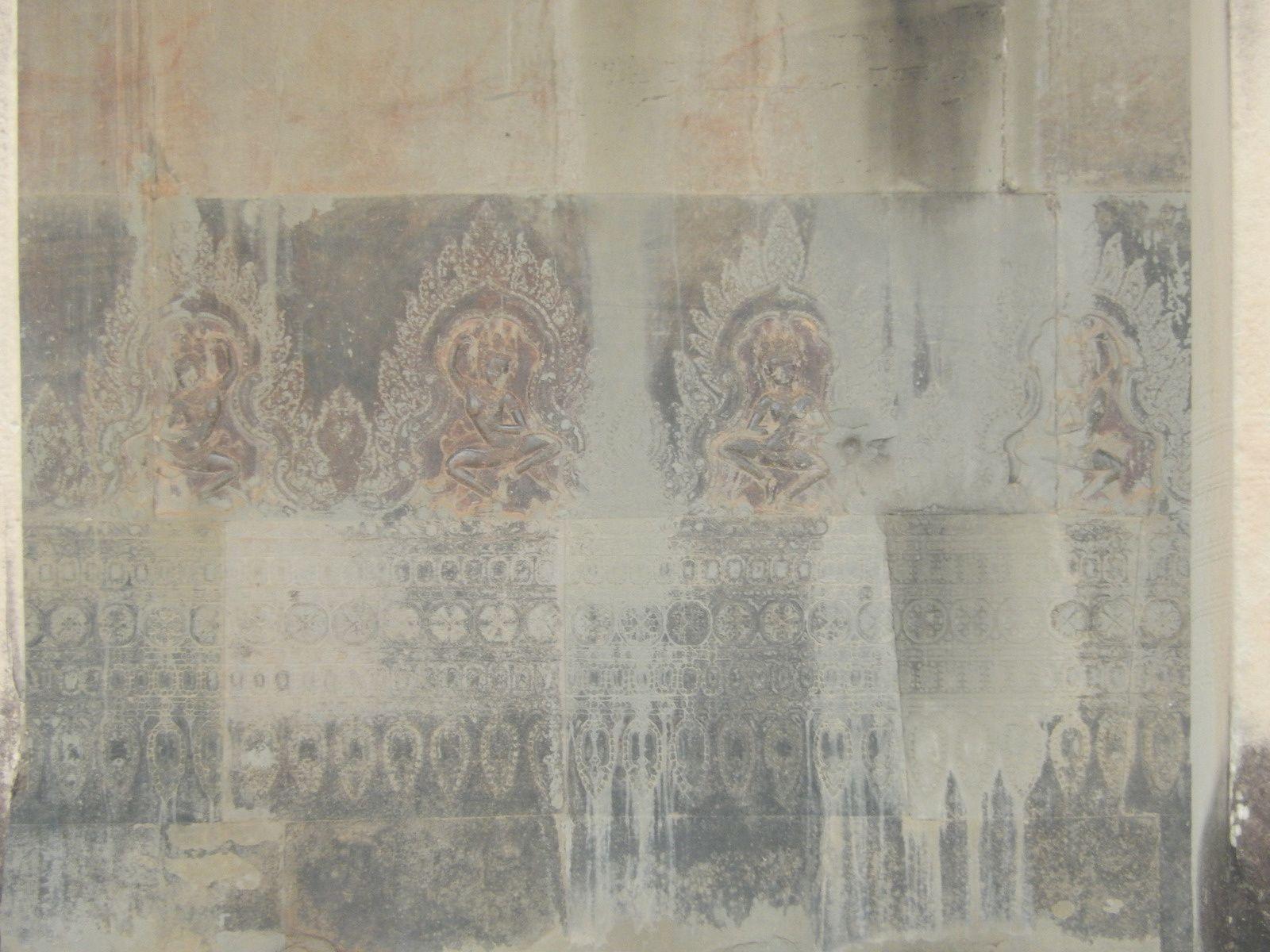 la poste et la boite aux lettres, Angkor Vat  et les mariés du jour