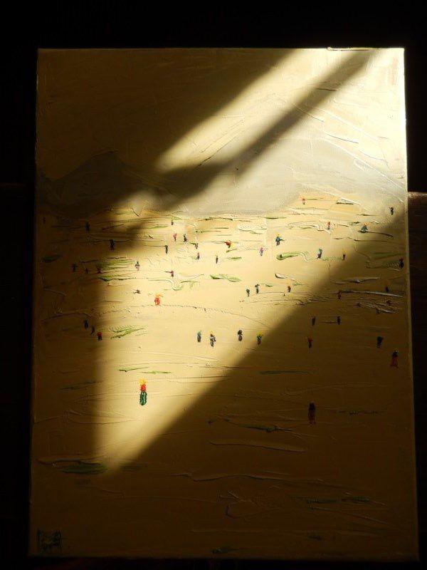 toiles sur huile ... au soleil