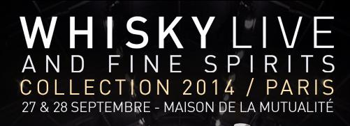 Whisky Live Paris 2014 - Salon de dégustation de spiritueux