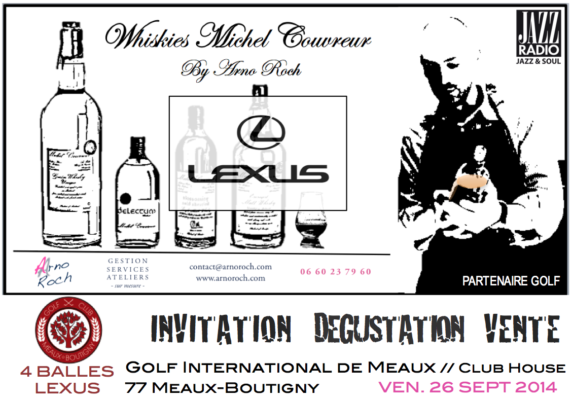 INVITATION DEGUSTATION VENTE Whiskies Michel Couvreur