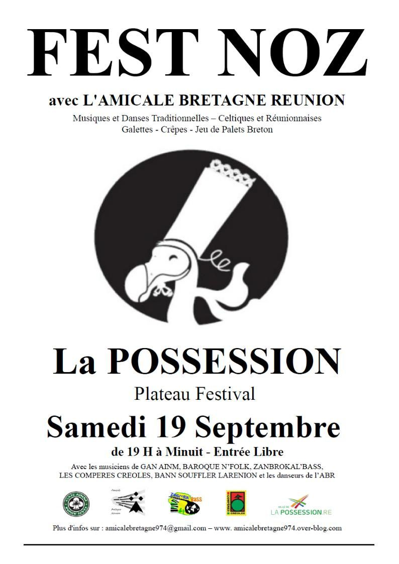 Samedi 19 Septembre 2015: Fest Noz à la Possession