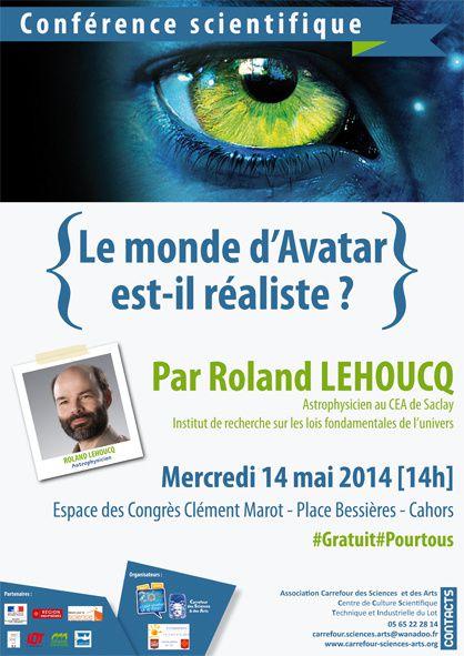 Mercredi 14 mai 2014 : Parlons de sciences et d'Avatar !