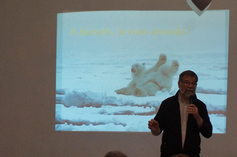 Retour sur : Notre rencontre avec Bruno Guégan et les ours polaires