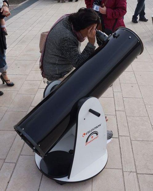 Retour sur l'observation de l'éclipse partielle de Soleil du 20 mars 2015 à Cahors
