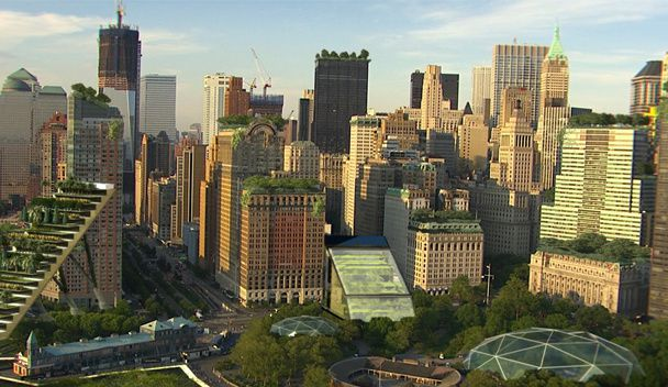 Naturapolis New-york: La révolution verte