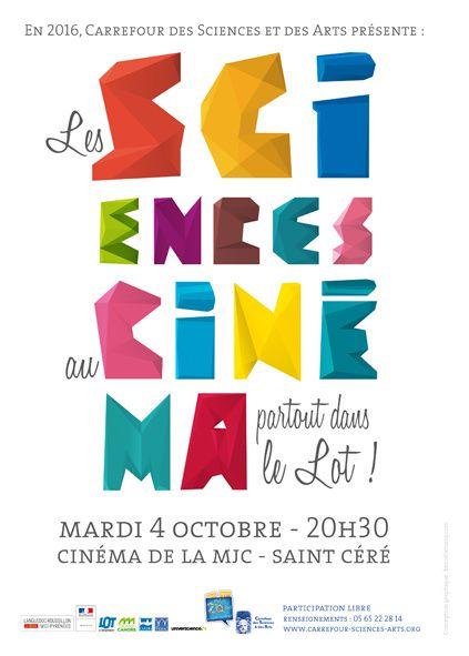 Les sciences au cinéma 2016 à Saint Céré (mardi 4 octobre 2016)