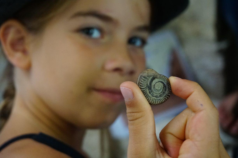 Été 2017 : jeu de piste pour apprentis géologues dans la ville de Cahors