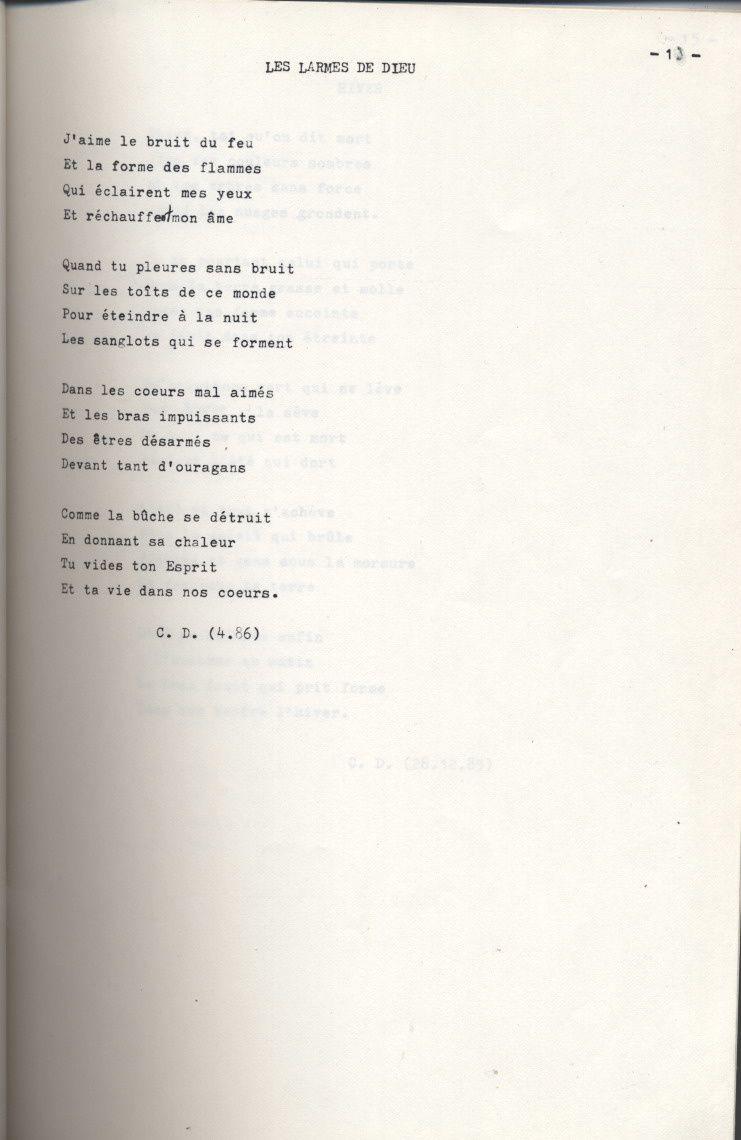 Poeme Le Feu Le Blog De Codef246