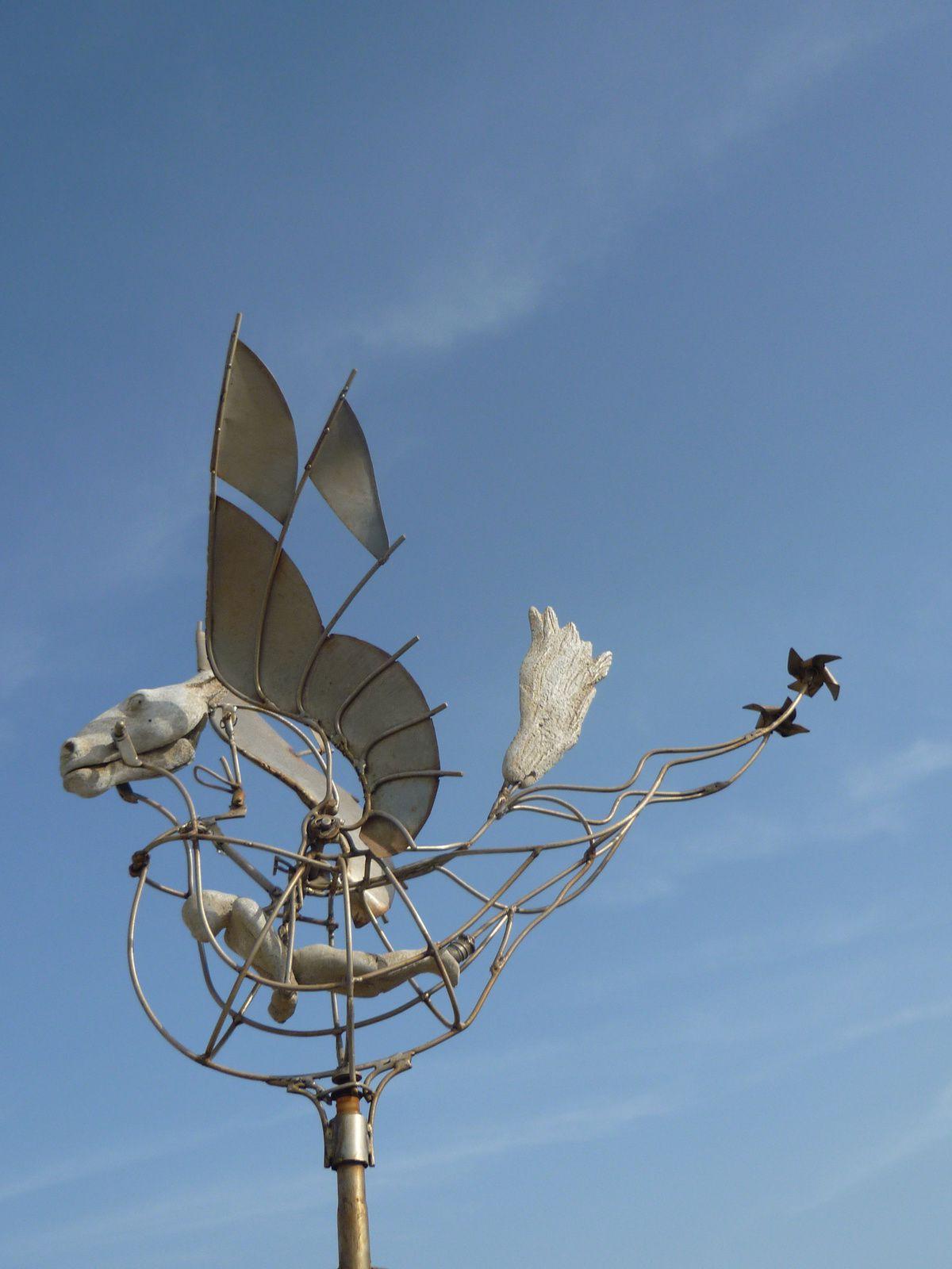 Exposition dans le vent ... au fort de Lagos(Algavre)