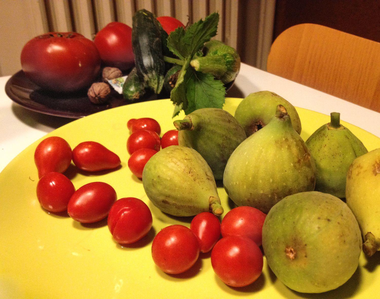 Au jardin #tomates & figues