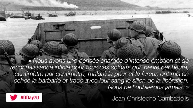 Suivez les cérémonies du 70e anniversaire du débarquement en Normandie.
