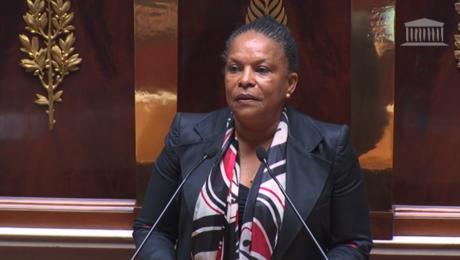 Christiane Taubira : « Le projet de réforme pénale représente un formidable progrès »