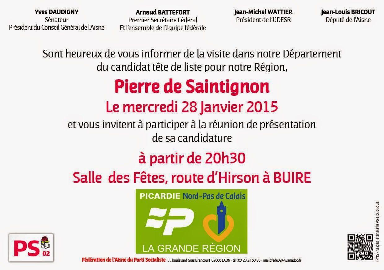 Pierre de SAINTIGNON le Mercredi 28 janvier 2015 à Buire