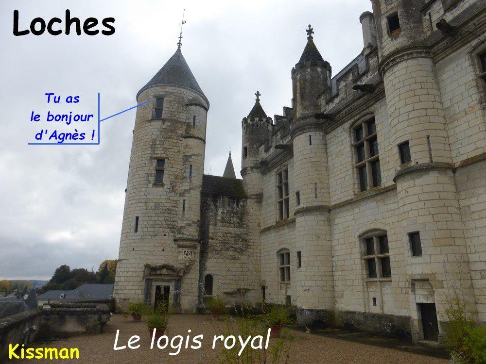 Logis royal : à la mémoire d'Agnès Sorel