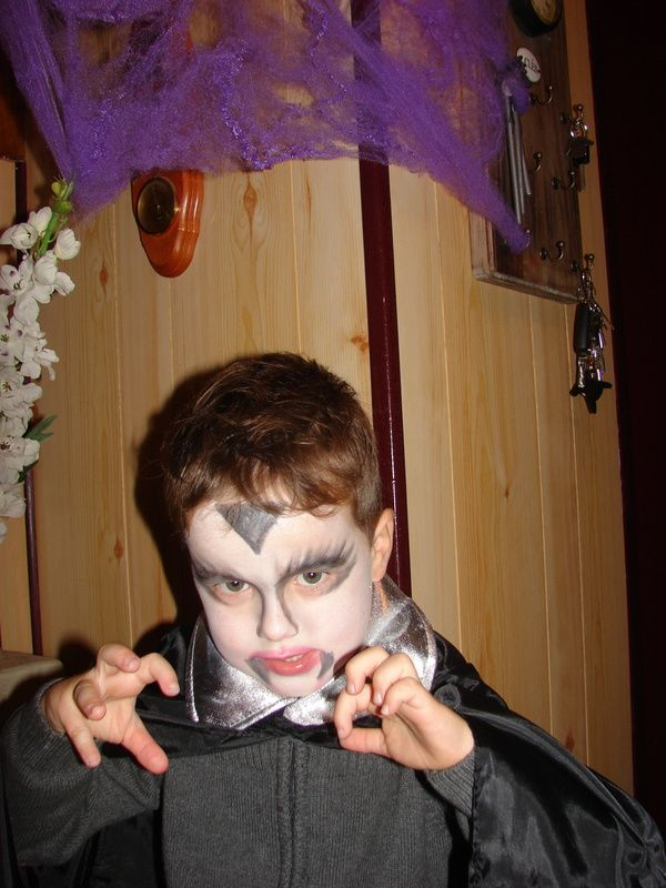 premier Halloween pour mon Raphaël