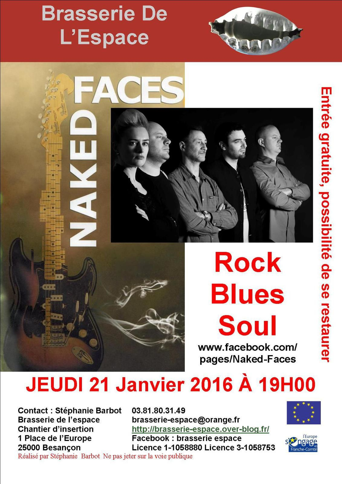 Naked Faces 21 janvier 2016