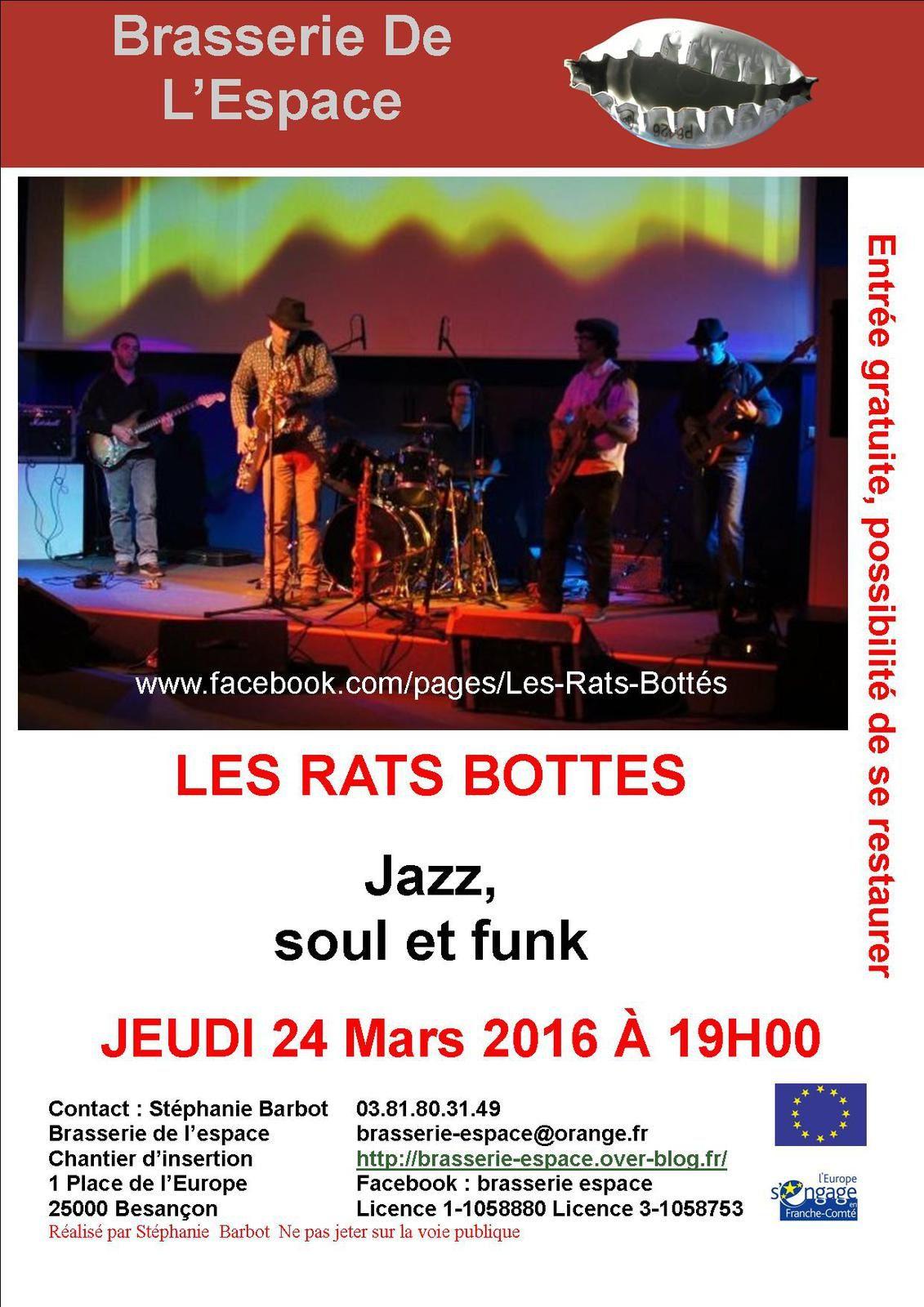 Les RATS BOTTES 24 mars 2016