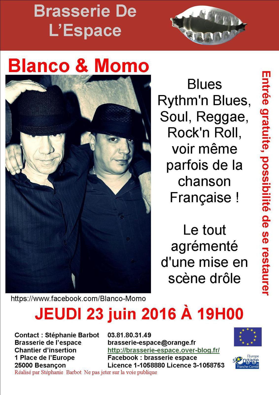 Blanco &amp&#x3B; Momo