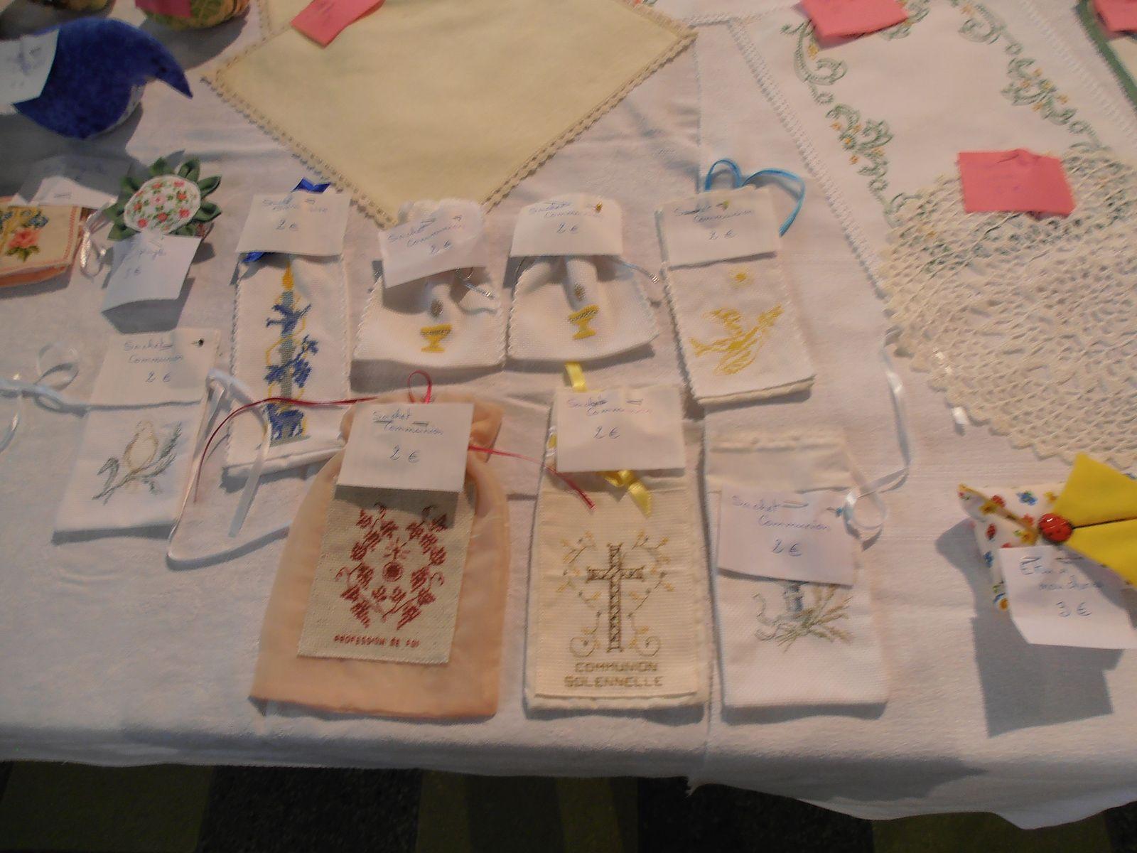 Atelier Paroissial - Vente de mai 2014