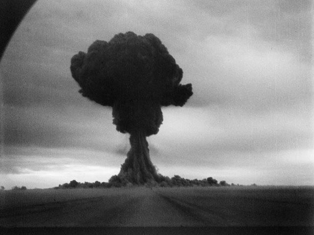 1949, la première bombe atomique soviétique explose