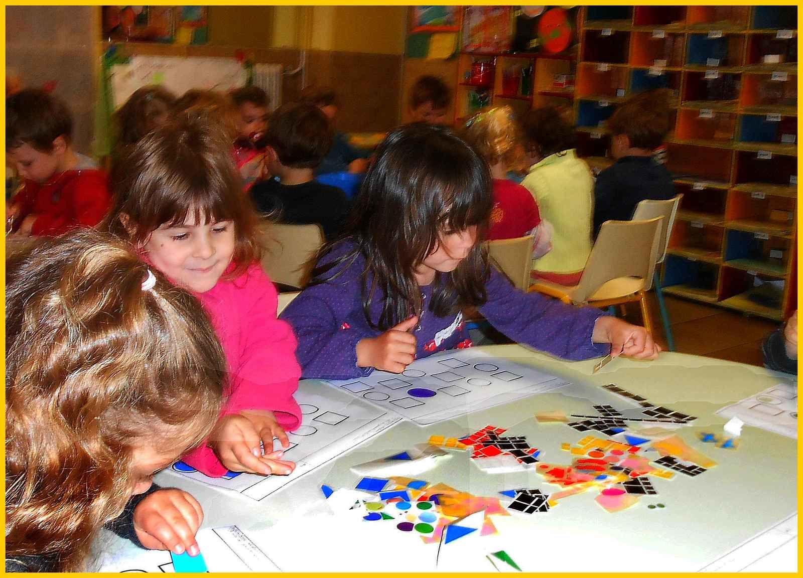Un atelier de mathématiques des petits