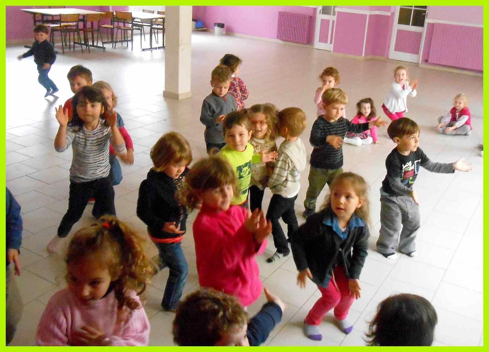 Danse africaine (TPS et PS)