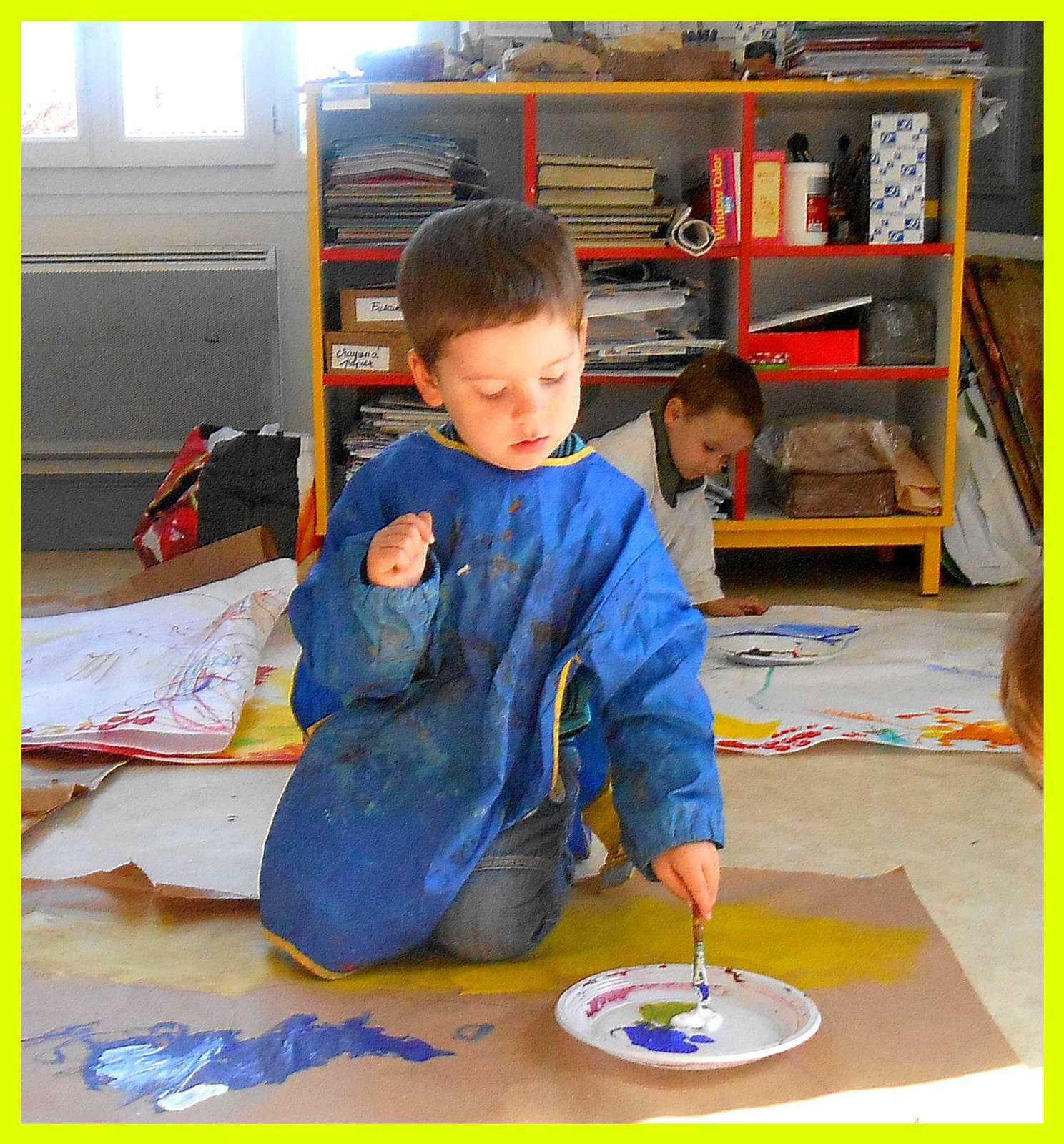 Nouvelle aventure à l'Ecole d'Art (TPS et PS)