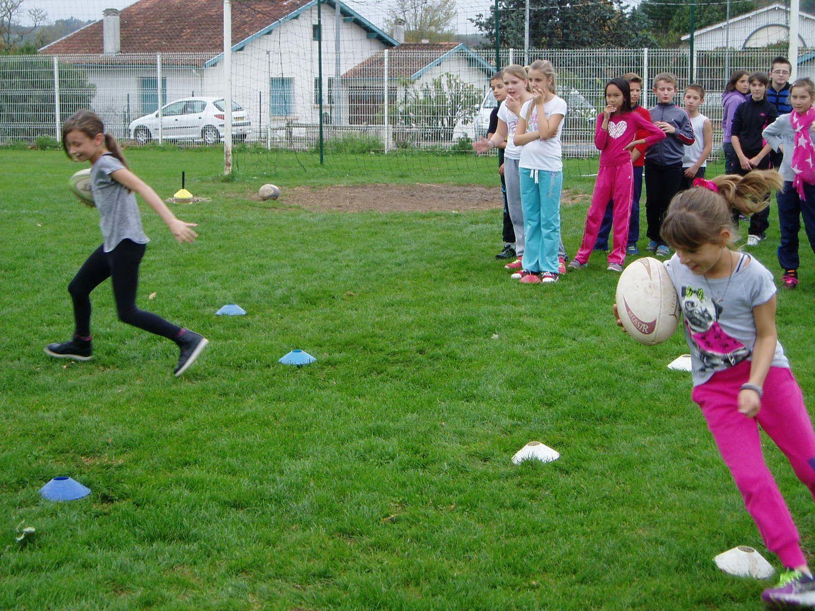 Initiation rugby CM2