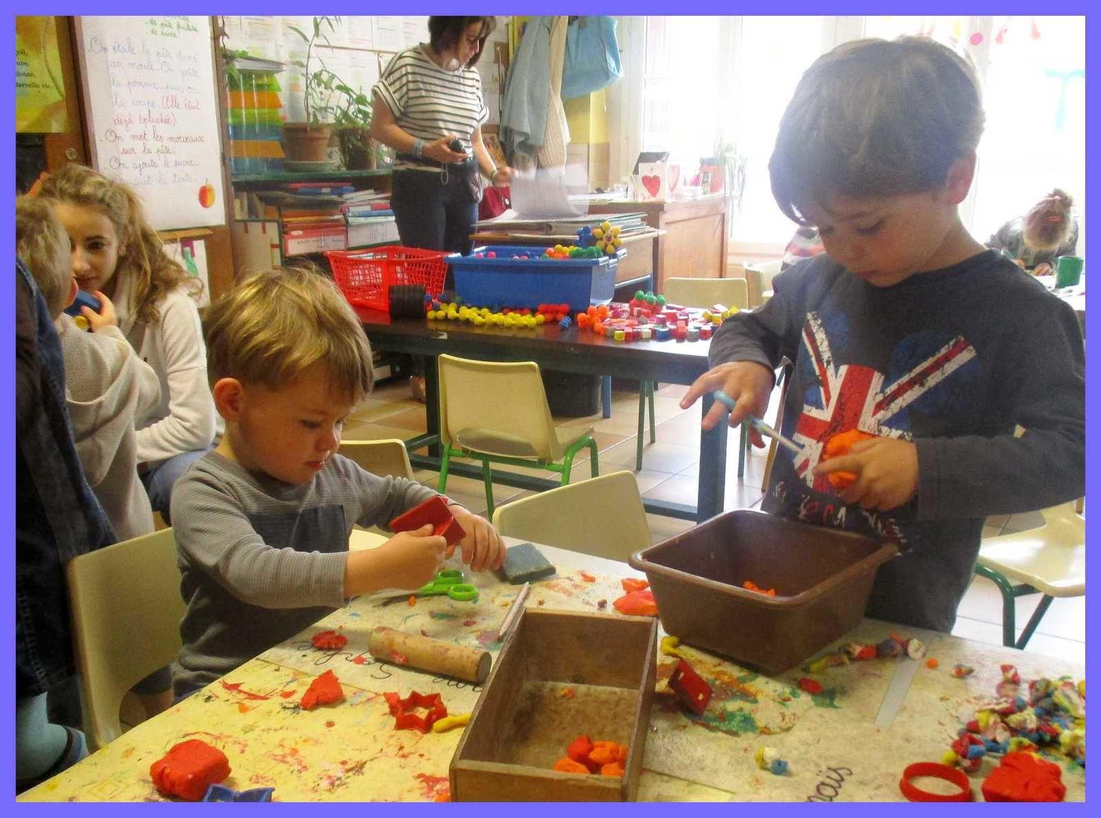 Visite des enfants de la crèche   (TPS et PS)