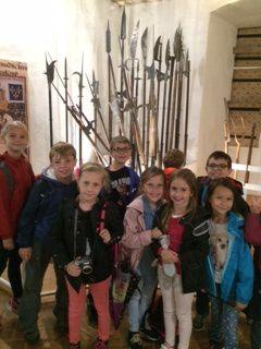 La visite du château de Castelnaud (CP/CE1/CE2)
