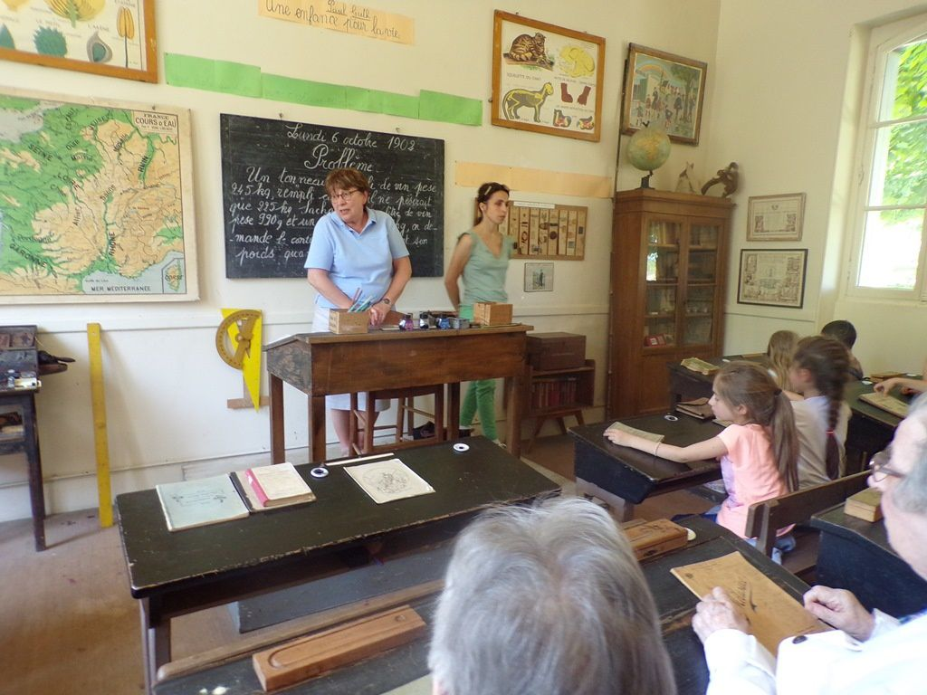 La salle de classe Jules Ferry