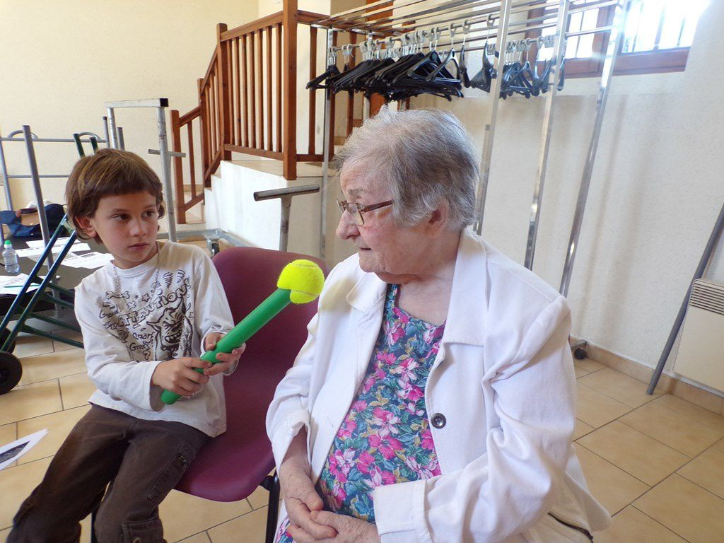 Interview d'une personne âgée sur la vie d'autrefois