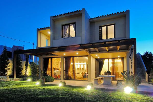 Architecture de villa contemporaine
